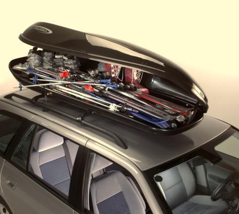 Крепления для лыж на багажник автомобиля